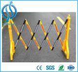 Produtos quentes plástico da segurança de estrada da venda e barreira do tráfego da cerca do aço