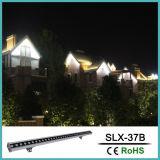 RGB LED de 24V de la iluminación de lavado de la pared exterior
