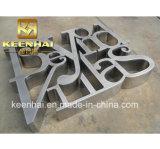 Publicidade Oudoor Customed em aço inoxidável de metal 3D Carta assinar em Bom Preço