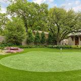 Putting Green et Synthétique Gazon artificiel pour le golf (GFN)