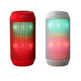 새로운 Wireless Column LED Pulse Speaker Colorful Lights Handsfree Altavoz Sport 3D Stereo