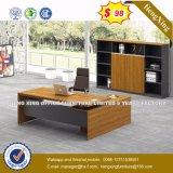 Bureau en bois des forces de défense principale E1 avec les meubles du bureau ISO9001 (HX-8N0475)