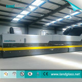 Automático de Landglass y doblando la construcción de horno de revenido de vidrio plano