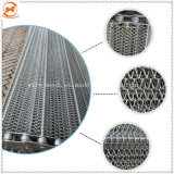 Convoyeur à courroie en acier inoxydable/tissu ceinture/anneau de fil Mesh Belt