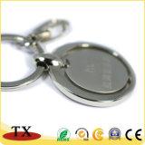 Liga Rotatable Keychain do zinco do metal da alta qualidade