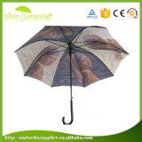 高品質23のインチJハンドルによってカスタマイズされる映像の印刷のまっすぐなテラスの傘