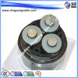 В целом экранированные и ПВХ изоляцией/PVC пламенно/бронированные/ЭБУ системы впрыска/Щиток приборов кабель