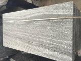 Пылаемый серый гранит Nero Сантьяго вымощая для курса напольных и сада