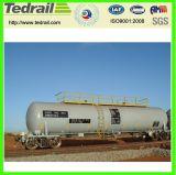 鉄道の軽いオイルタンク車