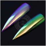 Ocrown Unicorn espejo cromado Aurora Pearlscent Rainbow pigmentos en polvo de sirena