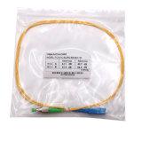 &phi de Sc/FC; 2 cable del Fanout de MTP MPO, cuerda de corrección, óptico de fibra