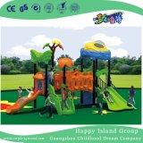 Nuovo campo da giuoco d'acciaio galvanizzato del tetto spazio cosmico verde esterno per i bambini (HG-9601)
