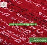 100% dickflüssige englisches Alphabet-gedruckte Schal-Form-Dame Moslem Scarf