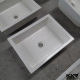 Lavabos de luxe de marbre de pierre de résine pour la salle de bains (B1711248)