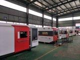 Machine de découpage inoxidable de laser de fibre d'acier du carbone avec la source de laser d'Ipg