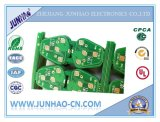 Grüne Schablone gedruckte Schaltkarte des Lötmittel-Fr4 Selbst2layer mit Doppelt-Seite Schaltkarte-Vorstand