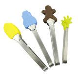 Щипцы для макарон из нейлона высокого качества продуктов питания и щипцы с TPR ручки