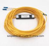 Circulador portuario óptico insensible óptico 3 de fibra de la polarización distribuidora de fibra