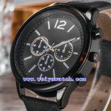 De hete Verkopende Zwitserse Polshorloges van het Kwarts van het Horloge voor Mensen (wy-G17012B)