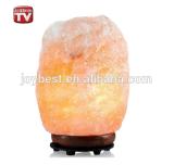 Lâmpada Himalayan do cristal de sal da rocha iónica