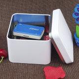 菓子のコーヒークッキーチョコレートのための正方形の金属の錫ボックス