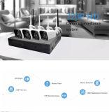 Оптовое WiFi 720p беспроволочное 4CH DVR с набором камеры CCTV монитора