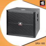 18 Zoll PROSubwoofer Systems-hölzerner Schrank-passiv-Lautsprecher