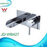 Высокое качество ванной комнатой и водопадом светодиод под струей горячей воды