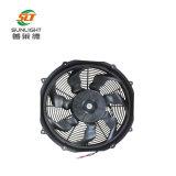 12V 16 polegadas - ventilador sem escova axial elétrico do ventilador da C.C. do fluxo de ar elevado