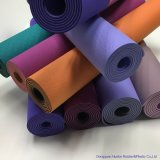 Eco friendly Antideslizante Mat de Yoga certificada SGS Material TPE.