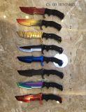 Нож ножа гипер зверя Karambit складывая карманный с ручкой нержавеющей стали