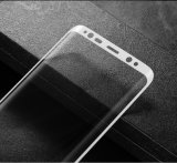 Samsung Galaxys8를 위한 3D에 의하여 구부려지는 강화 유리 스크린 프로텍터 필름