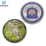 Prix bon marché de l'émail pièce de métal personnalisée