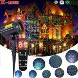 Сад лазерный проектор, Xmas лазерные приборы освещения, мини-проектор света лазера
