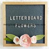Чувствуемая серым цветом деревянная доска письма
