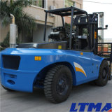 Prix diesel neuf de chariot élévateur d'avant-bras de 13 tonnes de Ltma