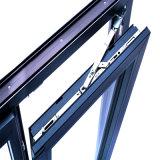 Novo Design Interior da janela de alumínio com vidro temperado