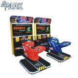 アーケードのレースカーのゲームコンソールを競争させるオートバイの速度