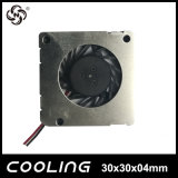 Tipi nuovi di raffreddamento Ce 30X30X4mm di RoHS mini ventilatore centrifugo molto piccolo vigoroso del ventilatore 3004 5V