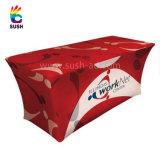 Рекламирующ напечатанную скатерть ткани таблицы крышки таблицы (XS-TC24)