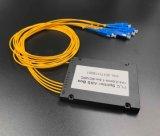 Sistemi del divisore del PLC della fibra colorati telecomunicazione 1X4 di Gpon