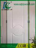 HDFのドアの皮によって薄板にされる光沢のあるメラミンペーパーThicikness 4mm