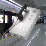 Teléfono del metro de Kntech con 2 botones y Walkietalkie del altavoz