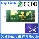 セットトップボックスのための上5m01 802.11ACデュアルバンド600Mbps Mt7610u USBによって埋め込まれるWiFiのモジュール
