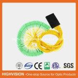 divisor óptico del PLC del ABS-Rectángulo de fibra 1X64