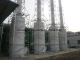 Depurador mojado para el gas de escape de la industria alimentaria