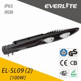 IP65 Ik08のEverlite 100W LEDの街灯