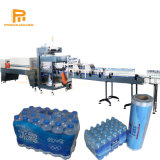 Machines de conditionnement automatisé bouteille film PE rétrécir enveloppé de ligne de production d'eau