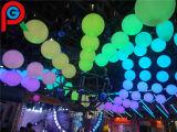 最もよい効果LEDのハングのよじ登る球の手動制御は多数大きさで分類する