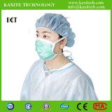 Máscara facial não tecidos cirúrgica para protecção médica Kxt-FM27